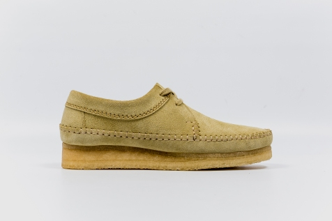 Clarks Weaver Maple Suede 33285 side