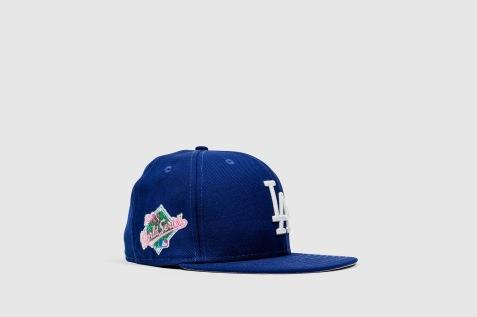 New Era x Swarovski LA Dodgers angle