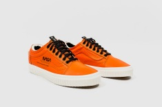 Vans x NASA old skool Firecrckr angle
