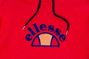 Ellesse Red Hoody-2
