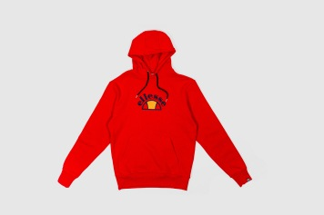 Ellesse Red Hoody front