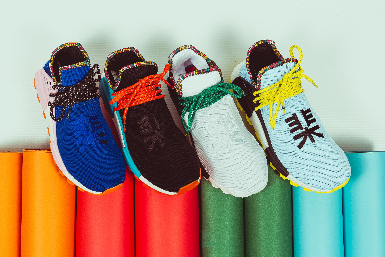 "51d206b5c60b2 adidas Originals x Pharrell Williams Solar HU NMD ""Inspiration Pack"""